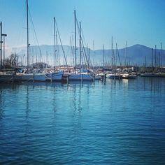 Promenade sur le port de Saint-Cyprien #stcyp #saintcyprien #port #quai #digue #balade #soleil #mediterranee