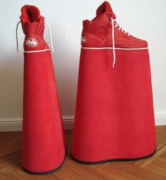 Try playing basketball in these.  Go on, try.