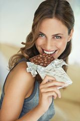 Dark chocolate can be good for your smile