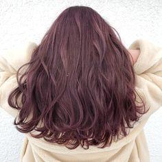 Kpop Hair Color, Korean Hair Color, Hair Color Pink, Brown Hair Colors, Pink Hair, Charcoal Hair, Colored Hair Tips, Beautiful Long Hair, Cool Hairstyles