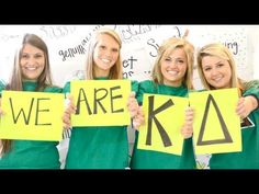 SO PROUD TO BE A PART OF THIS CHAPTER! Georgia Southern Kappa Delta Rush 2013