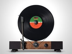 Floating Record™ Vertical Turntable project video thumbnail