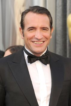 #Oscar #Oscars O grande favorito a Melhor Ator, Jean Dujardin. Que charme!