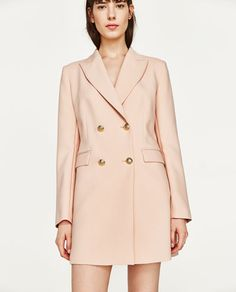 Image 2 of DOUBLE BREASTED FROCK COAT from Zara