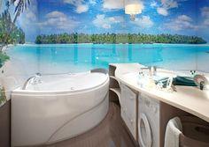 Подборка дизайн проектов современной ванной комнаты, которая сочетает в себе эргономичность, комфорт и стиль. Огромный выбор и примеры дизайна ванной и туалета и советы по обустройству санузла.
