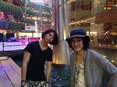 二人シュローダーヘッズ(タイマンセット)、無事終了しました! 5/18京都も二人で行きます〜。癖になりそうです(笑)  次の福岡は、「Synesthesia」リリースツアー5/24(土)春吉INSA です。 この日は、トリオ編成です。
