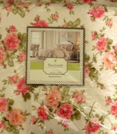 Mary Janes Farm Pink Roses Queen Quilt Bedskirt 2 Standard Sham Set Bedroom New  #PekingHandicraftInc #Country