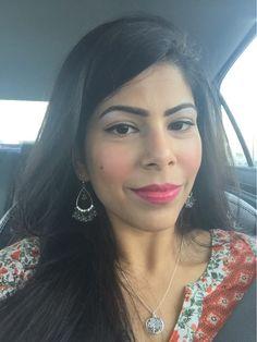 Some days I let the lip do the talking.  #like #bayarea #indianblogger #redlips #igers #iglove #igblogger #fashion #fashionblogger #beauty #makeup #beautyblog #sephora #holiday #girlboss #potd #lotd #look #desi #california #love #happy #nofilter #beautyblogger