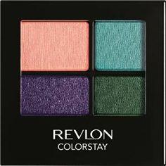 Το σετ σκιών από τη Revlon, ColorStay 16 Hour Eyeshadow Quad περιλαμβάνει…