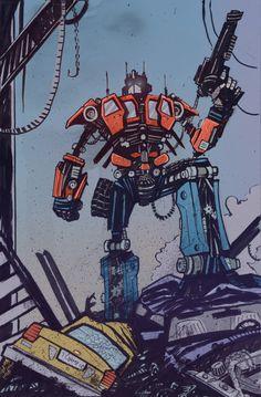 Optimus Prime / #transformers
