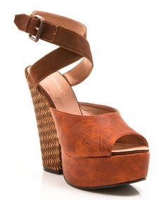 Gomax  -  Brown Limited Edition Sandal - Zulily