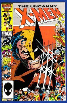 X-Men 211  Auction your comics on www.comicbazaar.co.uk