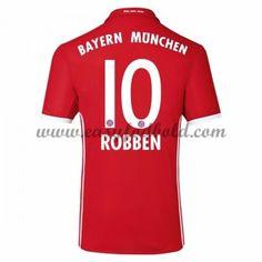 Fodboldtrøjer Bundesliga Bayern Munich 2016-17 Robben 10 Hjemmetrøje