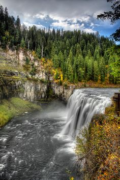 Mesa Falls @Caribou-Targhee National Forest, Idaho