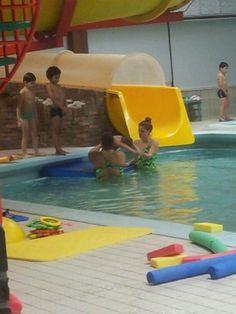 Eryn aan het duiken.