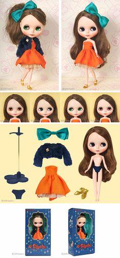 Blythe Doll Orange and Spice 2013