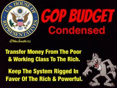GOP Budget & The Biggest Mystery Of All Time! Poor People Vote For Them! #GOPHatesPoorPeople #UniteBIue #TNTweeters