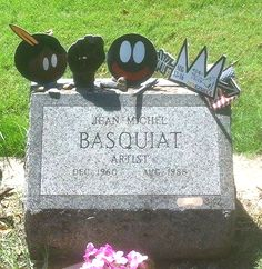 Tributo a Basquiat - Greenwood Cemetery, Brooklyn, New York City 2016