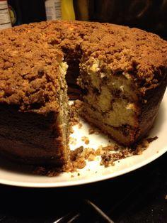 My coffee cake.