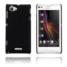 Hard Case (Musta) Sony Xperia L Suojakuori Sony Xperia, Phone, Black, Telephone, Black People, Phones