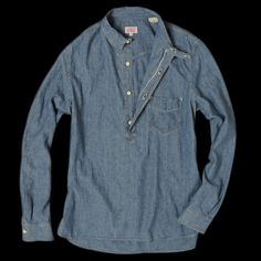 UNIONMADE - Levi's Vintage Clothing - One Pocket Sunset Shirt in Dark Chambray