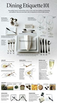 I love this... So helpful. I'm going to start setting my table like this every night! Even when it's just me :)