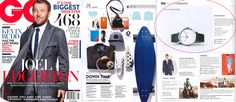 VOID Watches featured in the September/October issue of GQ magazine.