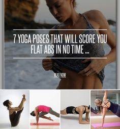 7 Yoga Poses That Will Score You Flat Abs in No Time