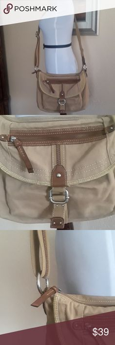 """Fossil Bags Vintage Fossil Bags Vintage,  man made trim, 14""""X9,1/2""""X2,1/2"""". Fossil Bags Crossbody Bags"""