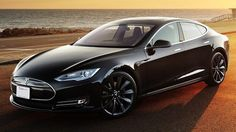 Tesla Model S.....now that is what an electric car should look like!! :)