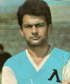 Georgi Asparuhov of Levski Sofia in Football, Bulgaria, 1960s, Stage, Blue, Soccer, Futbol, Sixties Fashion, American Football