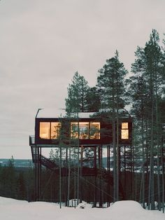 Container House - This beautiful landscape provides a perfect palette of Nordic colour inspiration: Forest green, brown and white and great choices for creating natural vibes in your home. Who Else Wants Simple Step-By-Step Plans To Design And Build A Container Home From Scratch?
