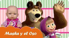 Hoy en Mundo Juguetes la bebé Lucía nos enseñará unos juguetes de Masha y el Oso. Tiene el maletín juega y crea de Masha y el Oso, el cubo de actividades de Masha y el Oso y el maletín teatrillo de Masha y el Oso. ¿Queréis saber que esconden estos fantásticos sets? Pues quedaos con nosotros...... ¡Diviértete en Mundo Juguetes, tu canal de videos de juguetes en español!