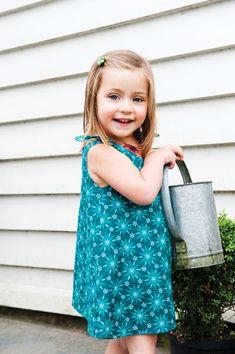 Girls Dress Pattern | Reversible Dress