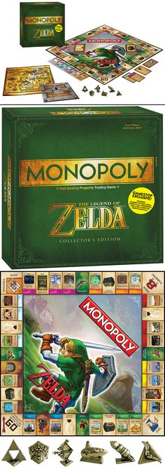 The Legend of Zelda Monopoly - Releasing September 15, 2014