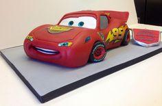 Lightening McQueen Cake!