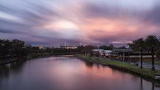 Sunset, Melbourne, Yarra, River