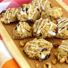 """Cranberry Cashew Jumbles 