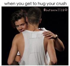 Yup! Our day is Every Thursday at break. First it was hug day for everybody but I slowly stopped hugging less and less people until he was the only one!
