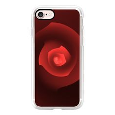 Rose - iPhone 7 Case, iPhone 7 Plus Case, iPhone 7 Cover, iPhone 7... ($40) ❤ liked on Polyvore featuring accessories, tech accessories, iphone case, iphone cover case, slim iphone case, iphone cases and apple iphone case