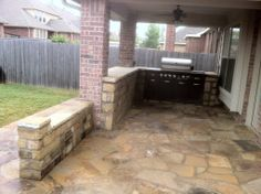 Groundscape, a Fort Worth Landscape Company, install outdoor kitchen and patio. Landscaping Near Me, Landscaping Company, Flower Bed Edging, Drainage Solutions, Landscape Services, Outdoor Living Areas, Fort Worth, Landscape Design, Pergola