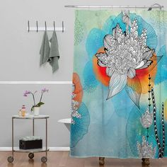 Bungalow Rose Terra Shower Curtain