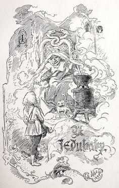 Czech illustration – Mikoláš Aleš: