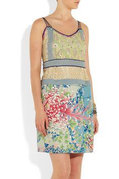 One Vintage Violet dress NET-A-PORTER.COM