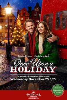 "Hallmark Channel: ""Once Upon a Holiday"" 