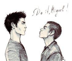 Derek Hale/Stiles Stilinski, Sterek (Tyler Hoechlin, Dylan O'Brien) Teen Wolf Fan Art
