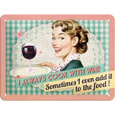 Cook With Wine - http://www.retrozone.pl/pl/p/Cook-With-Wine/112