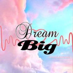 Dream Big - Today's inspirations!   Things that I am doing today are things that I dreamt of doing years ago. If in a few years I am doing what I am dreaming of now, I'll be beyond satisfied! Never stop dreaming and make sure you dream big. If you only ask for a car, He'll only give you a car. Ask for the land that you will own, and the house you will own that will sit on that land, with a garage that is attached to keep that car in... and a savings account with residual growth so you can…