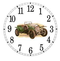 Clock face for Decoupage - provided by Kzero — via — Postimage.org Russia Diy Clock, Clock Decor, Wall Clock Dial, Clock Face Printable, Printable Lables, Unusual Clocks, Paisley Art, Watch Wallpaper, Scroll Saw Patterns