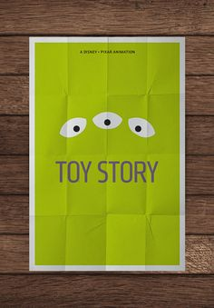Toy Story. Minimalistic Movie Posters.